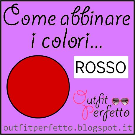 Come abbinare i colori: il rosso