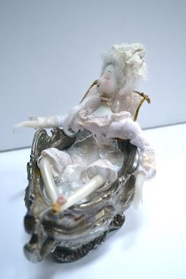 petite marquise au bain - créa Cathy Vagnon