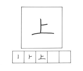 kanji atas