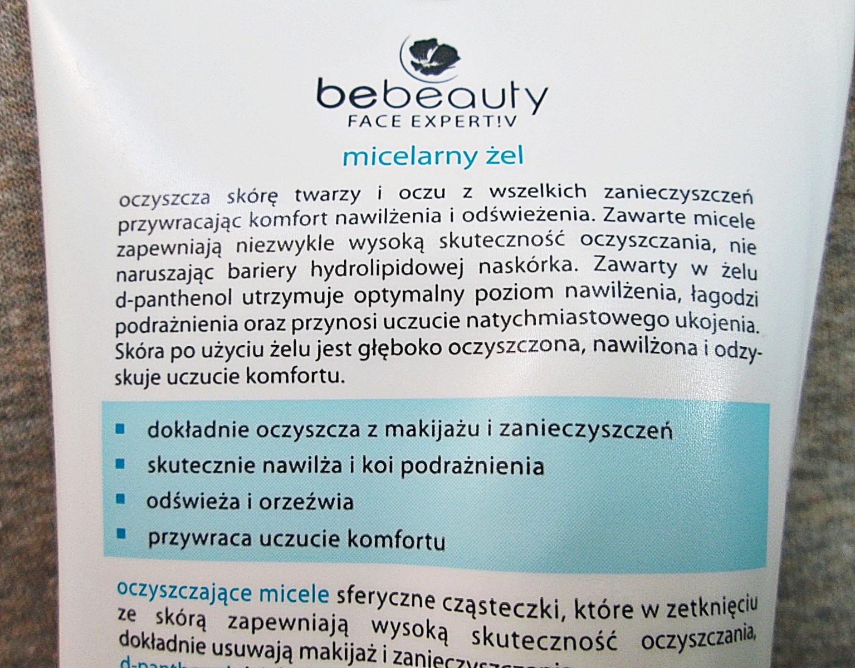 Żel micelarny Be beauty z Biedronki