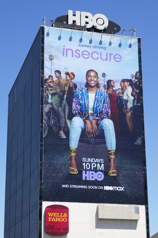 Giant Insecure season 4 billboard