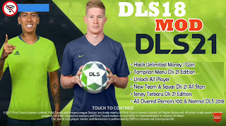 Download DLS 2018 MOD DLS 21 Android Offline Unlock All Player & New Jersey DLS 21 Edition