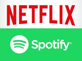 netflix e spotify
