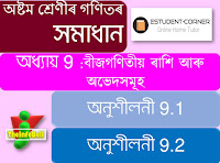 Class: 8, Lesson: 8, পৰিমাণৰ তুলনা, Exercise 8.1, 8.2 and 8.3| Math Solutions | Assamese