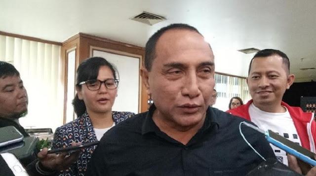 Gubsu Edy Bicara Pesan Jokowi soal Corona: Masyarakat Tak Boleh Stres