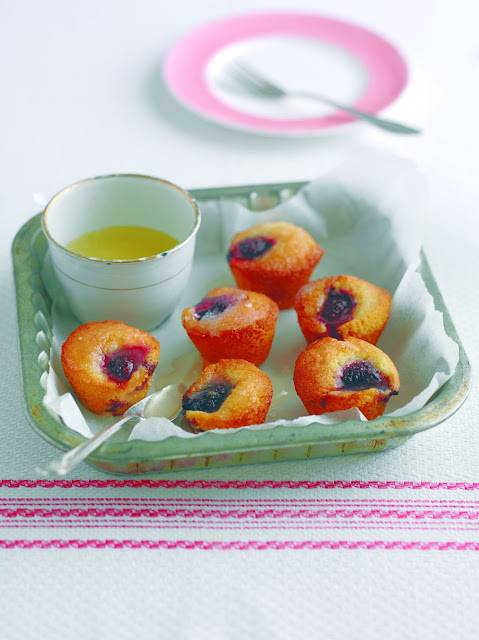 Mini Cherry And Lemon Drizzle Cakes: How To Make