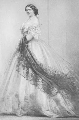 Princess Mary Adelaide from   A Memoir of Princess Mary Adelaide of Teck    by Sir Clement Kinloch-Cooke (1900)