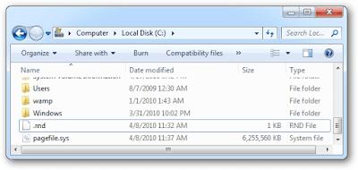 Kiểm tra file Hiberfil.sys không còn tồn tại trong Windows