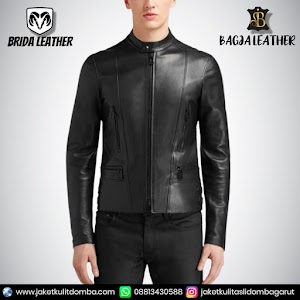 Jual Jaket Kulit Asli Garut Pria Domba Original Brida Leather B90 | WA 08813430588