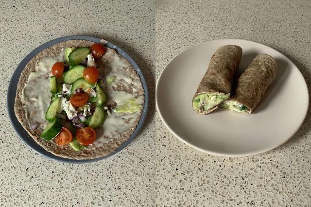 Avocado Kaas Wrap Recept