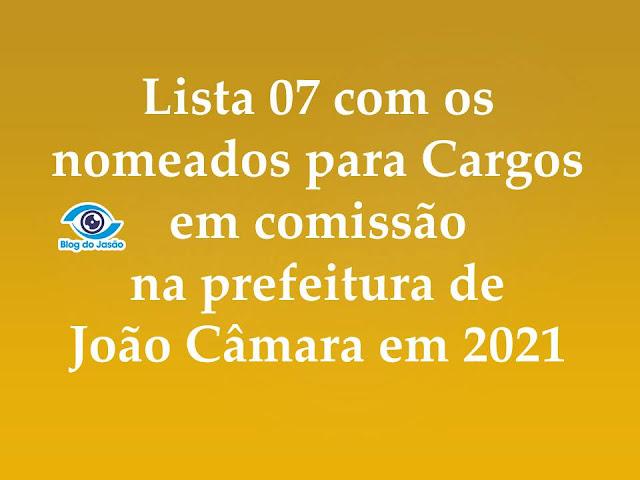 blog do Jasão nomeados João Câmara