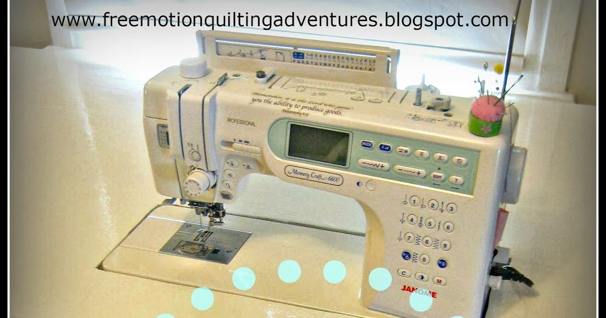 Amy S Free Motion Quilting Adventures How To Make A