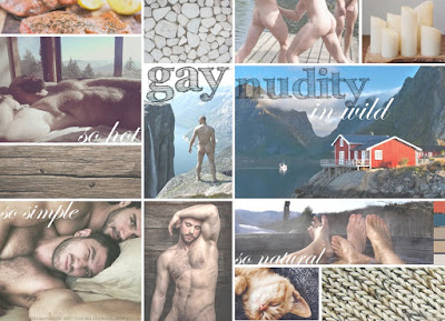 gay moodboard nudity hygge nordic