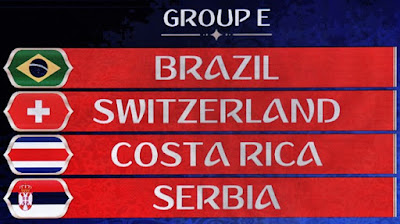 Brazil World Cup 2018 Group