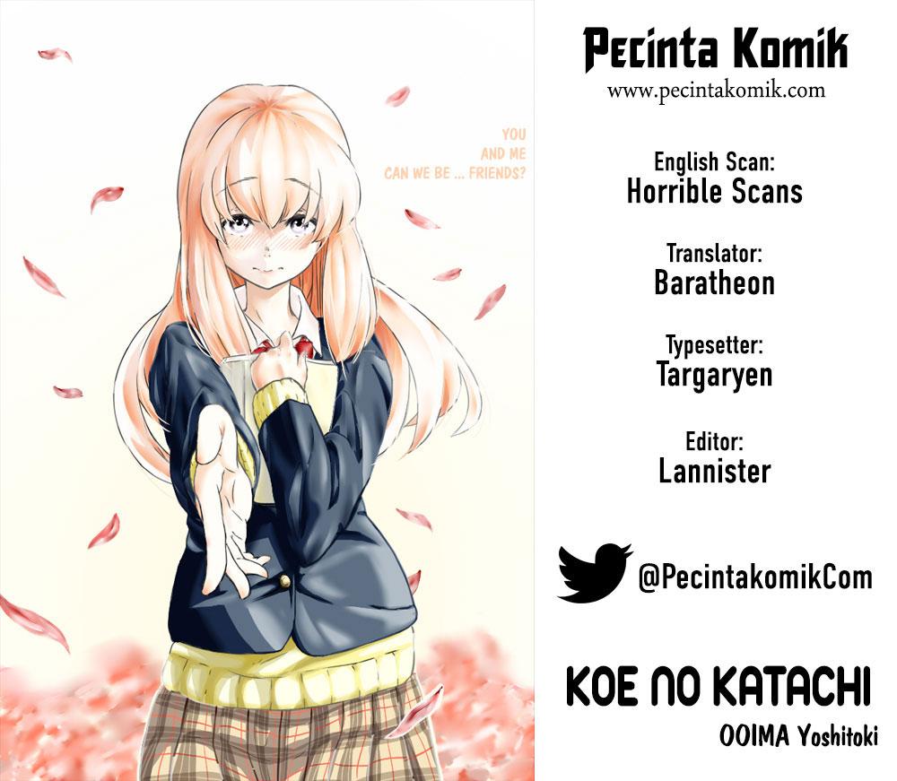 Koe no Katachi Chapter 29-1