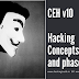 CEH v10 hacking concept Types and phases