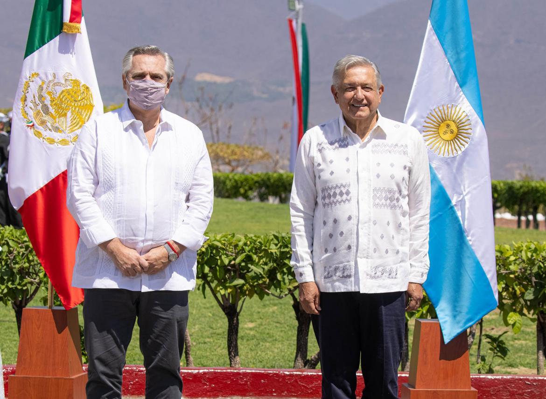 Alberto Fernández y López Obrador
