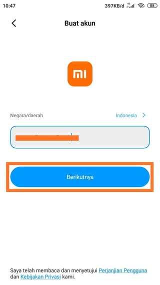 Cara Buat Akun Mi Cloud di Hp Xiaomi