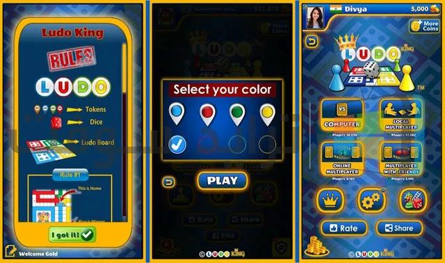 لعبة ملك اللودو كاملة عربي للموبايل مجاناً