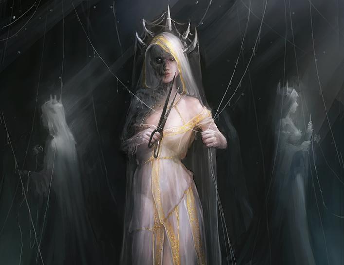 Cloto - Uma Das Moiras da Mitologia Grega