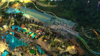 Roller Coaster Concept Art Universal's Epic Universe