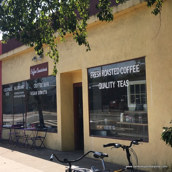 exterior of Coffee Conscious in Berkeley, California