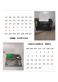 Calendario 2021: Amstrad Machines, de cpcbegin