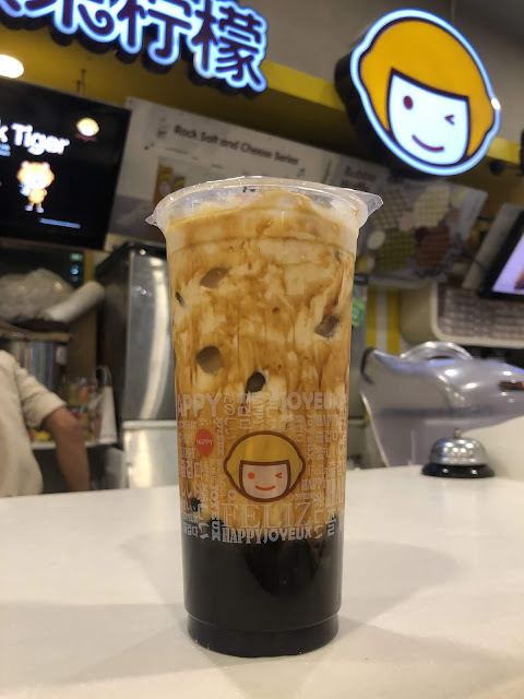 Happy Lemon's Tiger Milk Tea
