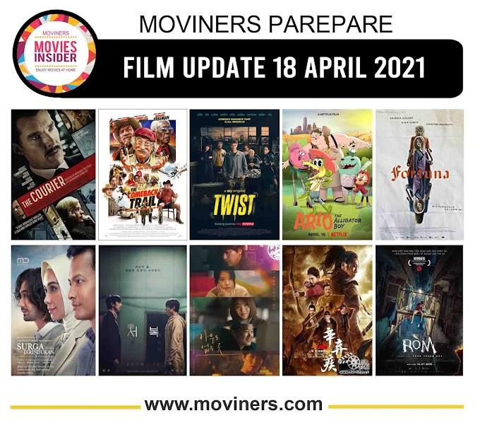 FILM UPDATE 18 APRIL 2021
