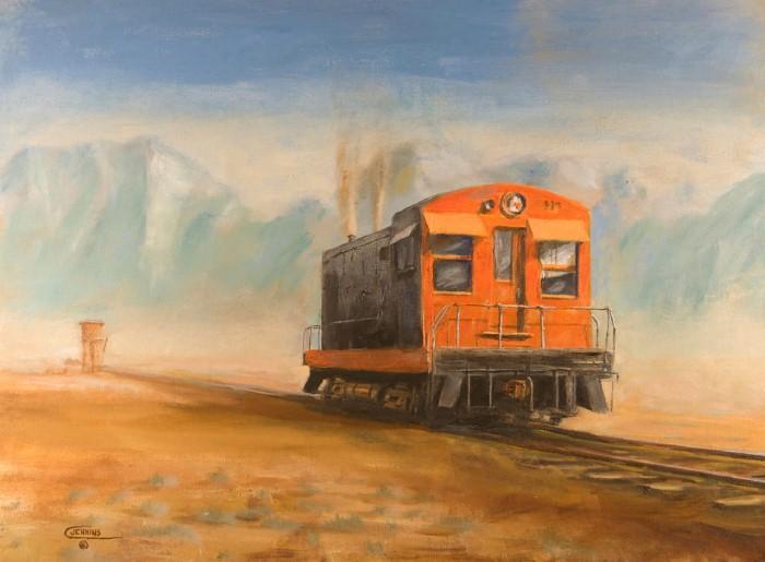 Железнодорожные картины. Christopher Jenkins 5