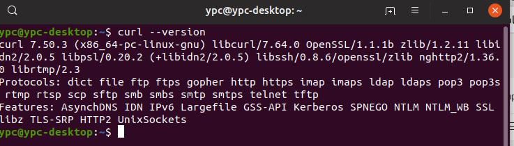 Cara Menginstal cURL di Ubuntu 18.04 LTS (Linux)
