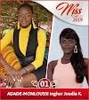 Les 20 candidates à l'élection Miss Togo 2019