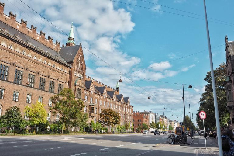 Vacances dans la ville de Copenhague