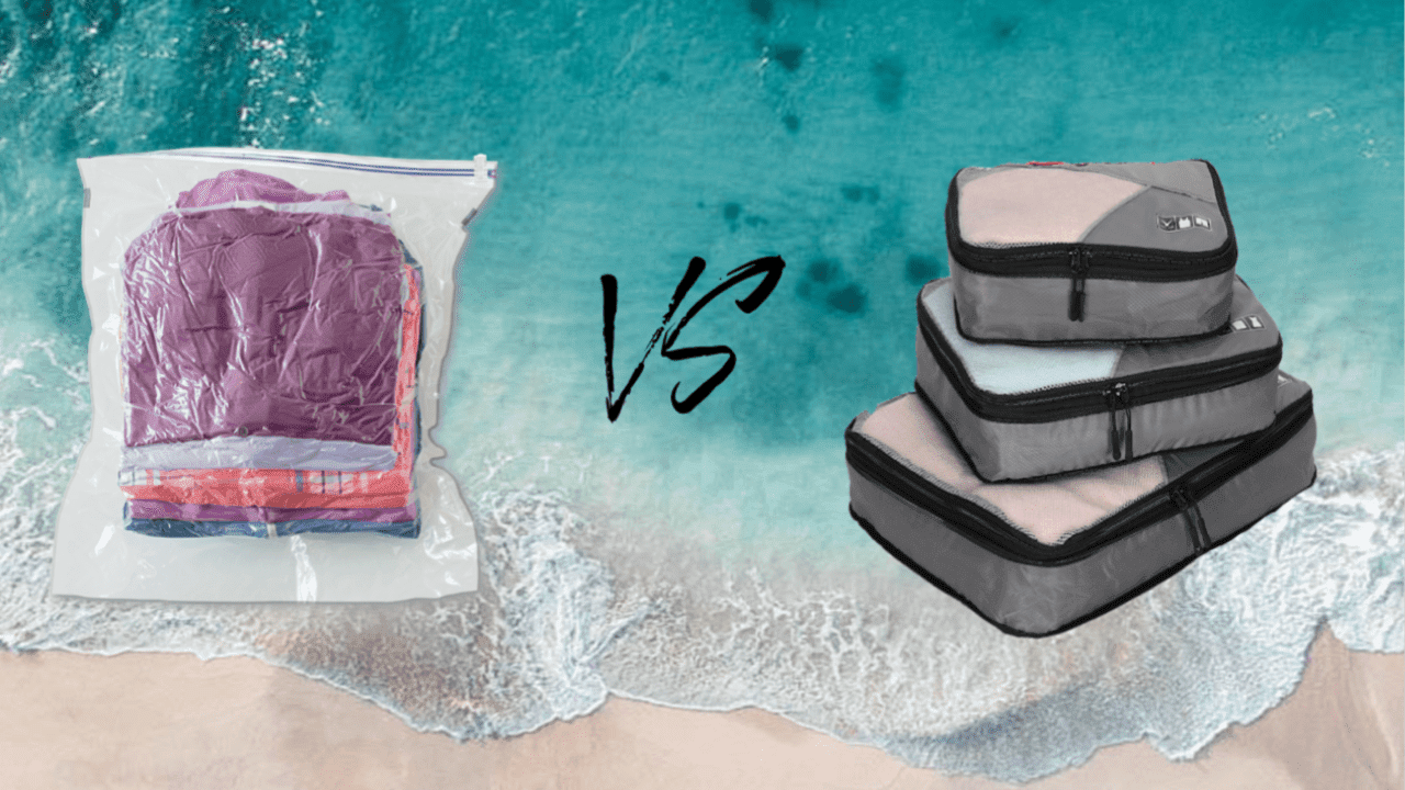 Travel Compression Bags vs Packing Cubes