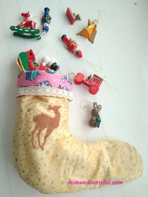 la leyenda del calcetín de navidad