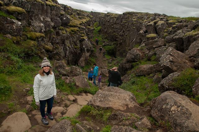 Visita a Þingvellir