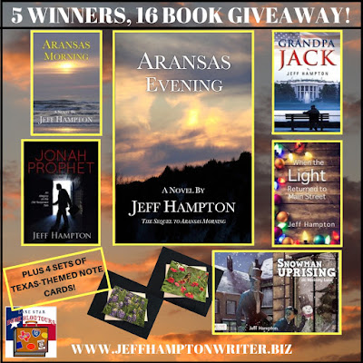Aransas Evening giveaway graphic
