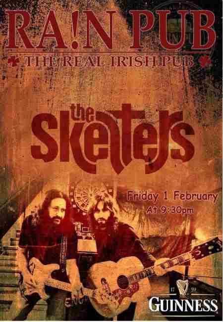 THE SKELTERS: Παρασκευή 1 Φεβρουαρίου, unplugged @ Irish Pub Rain