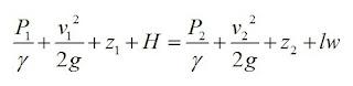 Exercícios resolvidos de aplicação da Equação de Bernoulli