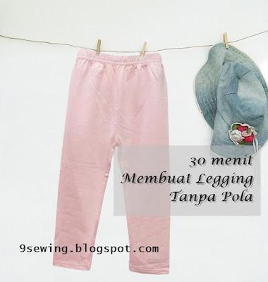 cara membuat legging