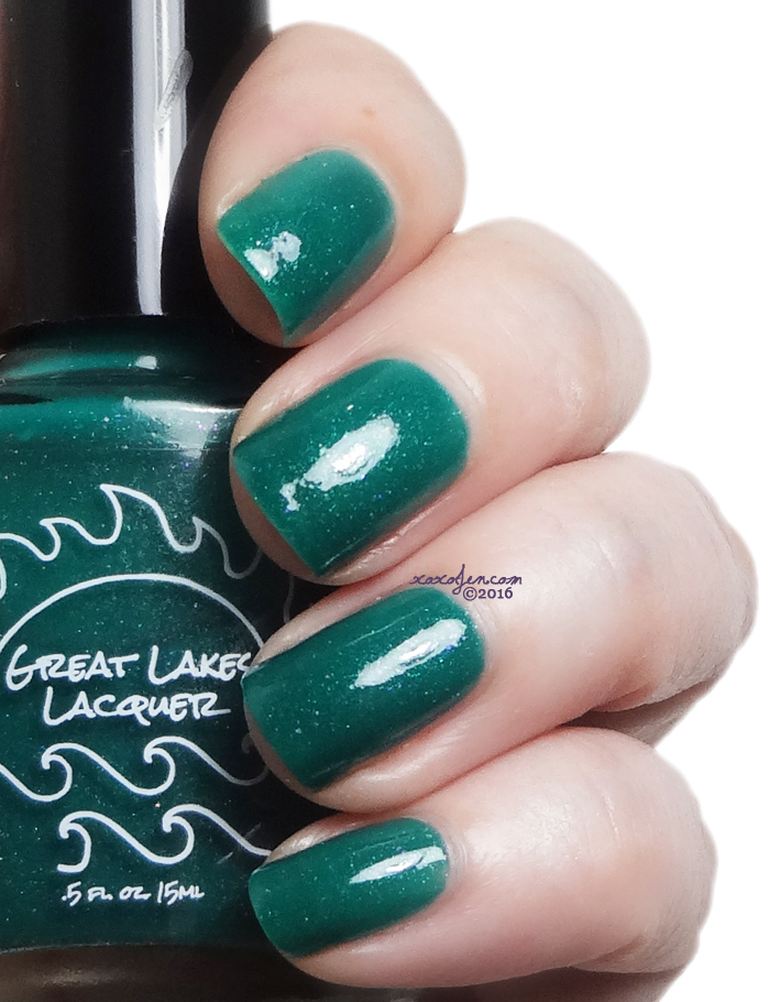 xoxoJen's swatch of Great Lakes Lacquer Manna's Magical Masterpiece