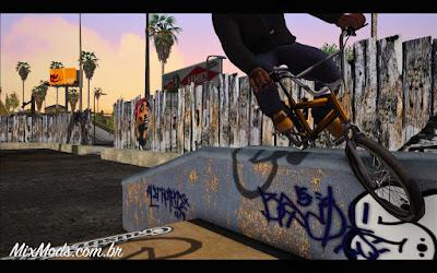 gta sa mod parque de skate hd skateboarding