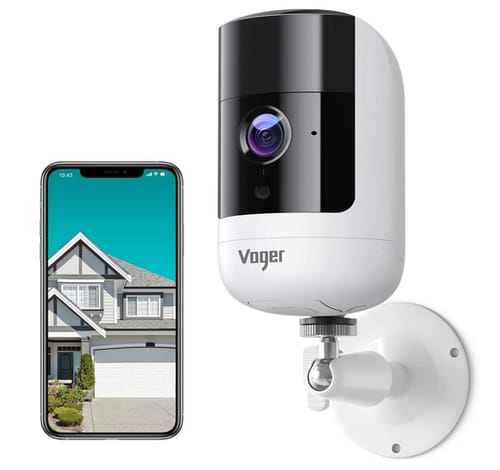 Voger ME720 Wireless Rechargeable Security Camera