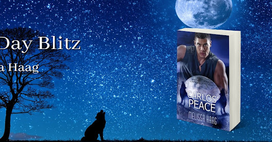 Carlos' Peace Release Day Blitz with Melissa Haag