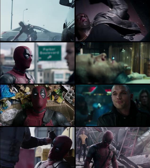 Deadpool 2016 English 720p WEB-DL
