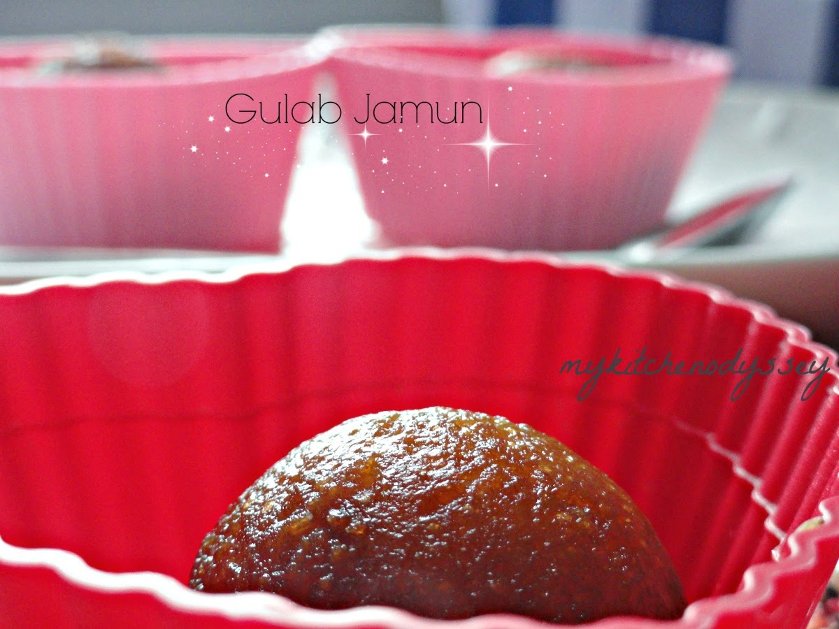 Soft and perfect gulab jamoon