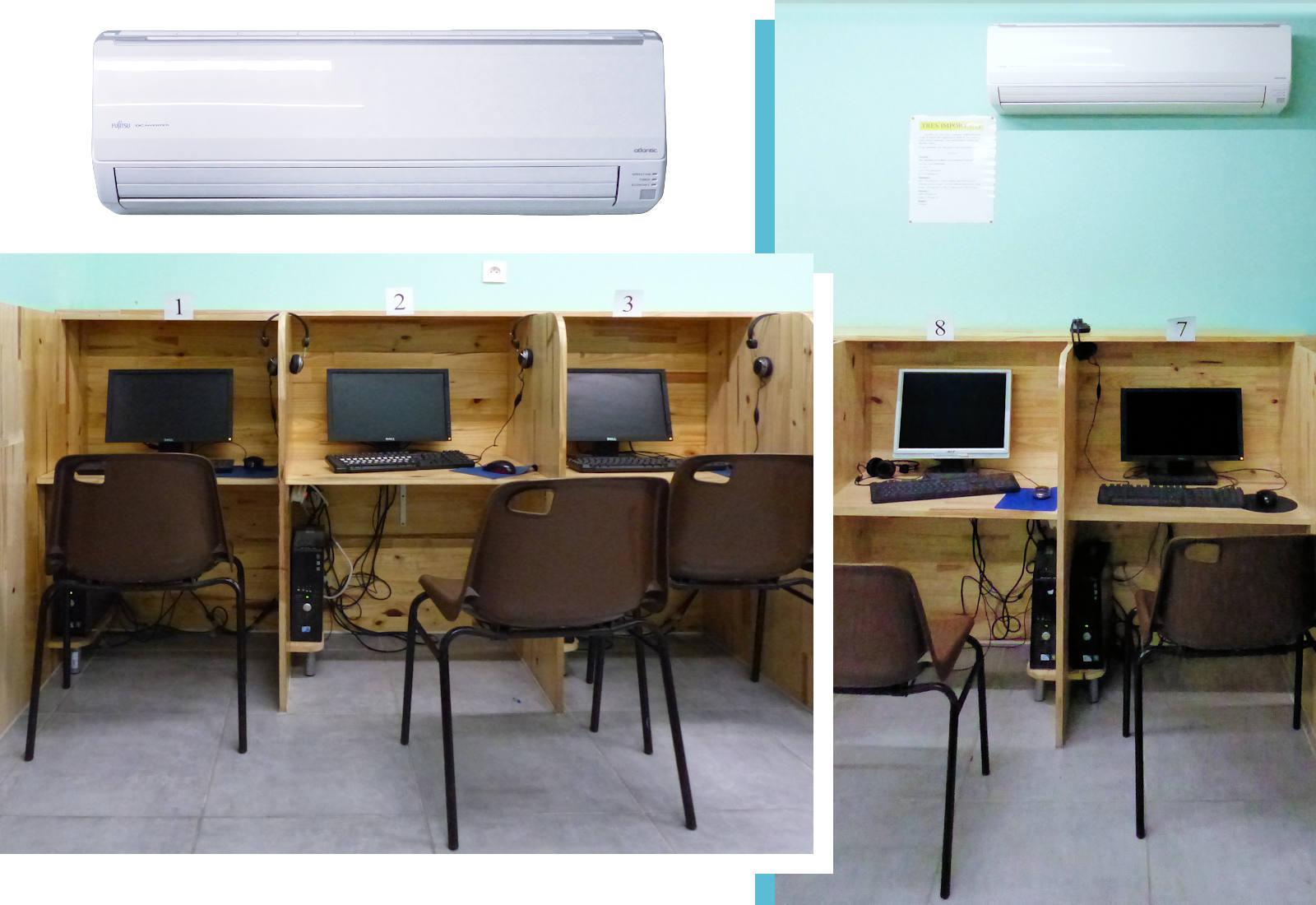 Wordcom cybercafé Tourcoing - Salle climatisée
