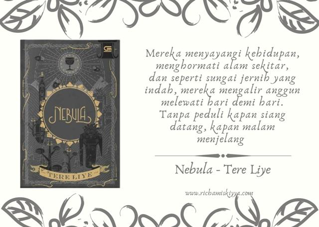 Novel Nebula adaah novel ke-9 dalam seri Bumi. Nebula ini bercerita tentang kehidupan Klan Nebula
