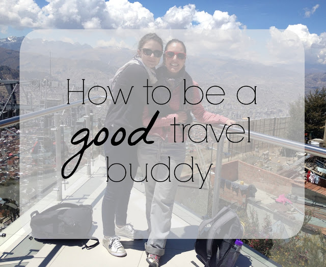 {Erin Out and About} How to be a good travel buddy