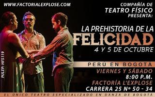 La Prehistoria de La Felicidad | Teatro Factoria L'Explose